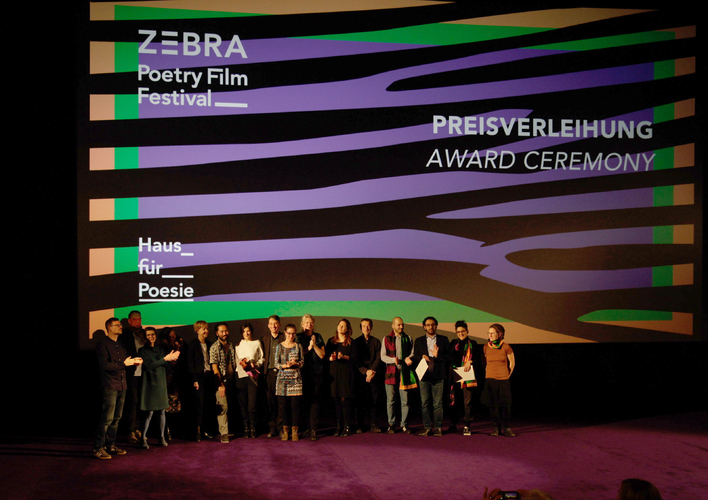 See you at the ZEBRA Poetry Film Festival: 19-22 November 2020
