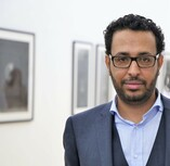 Event-Picture: Word Pictures – A ZEBRA Night of Readings Raed Wahesh (c) Ahmad Alrifaee