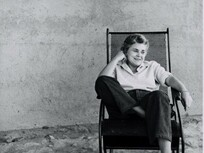 Event-Picture: Elizabeth Bishop neu übersetzt von Steffen Popp Elizabeth Bishop the poet at ease in 1954 (c) Rosalie Thorne McKenna Foundation