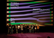 The prizewinners of the ZEBRA Poetry Film Festival 2019
