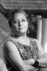 "Poetry Talk: The linguistic diversity of South Asia - ""I only write of yearning in my poems"" Mamta Sagar (c) Roy Sinai"